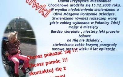 Oliwia Przybylska urodziła się 15,12,2008 roku