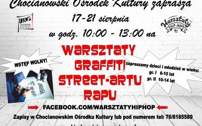 WARSZTATY- RAP,GRAFFITI,STREET-ART