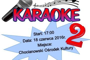 plakat Karaoke 2