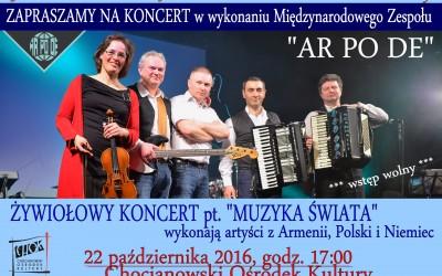 ARPODE koncert