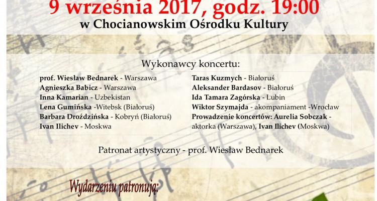 Koncert 9 września 2017