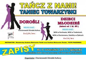tańcz z nami plakat