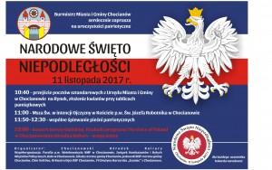 11 listopada 2017 plakat