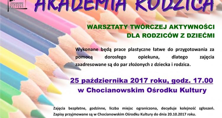 akademia rodzica -plakat
