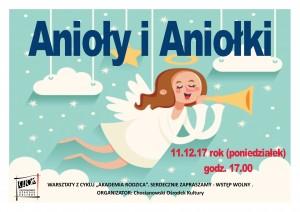 plakat anioły