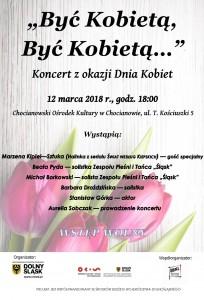 koncert 12 marca - być kobietą