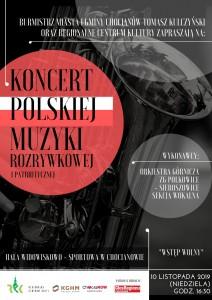 Plakat koncert orkiestry